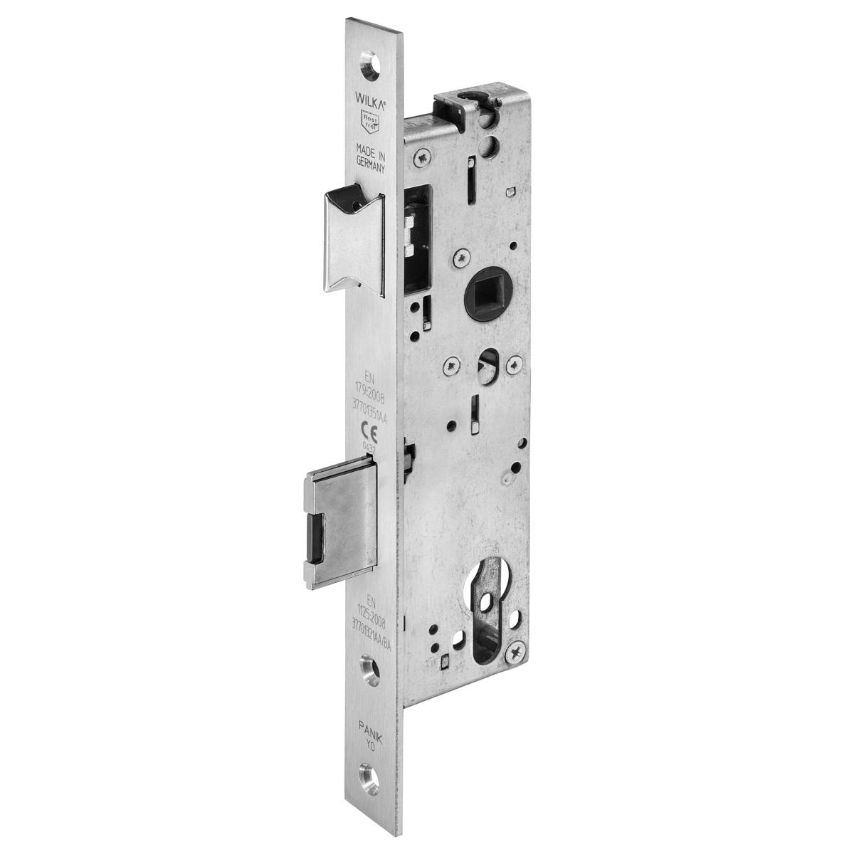 657Z Anti-Panik-Einsteckschloss für einflügelige Rohrrahmentüren | WILKA